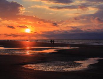 sun setting on Hilton Head Island