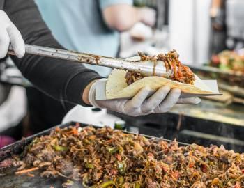 food festival tacos yum