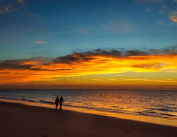 hilton head at sunset or sunrise