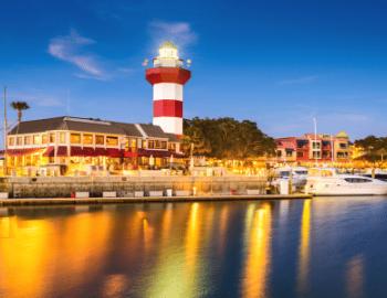 Hilton Head Island in the Fall Waterfront