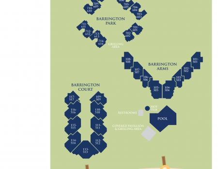 Map of Barrington Hilton Head Island