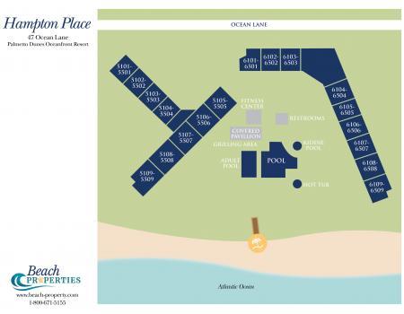 Hampton Place Map Hilton Head Island