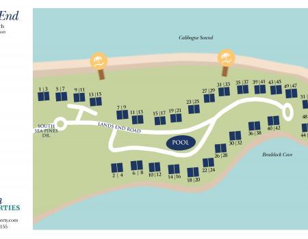 Lands End Map Hilton Head Island