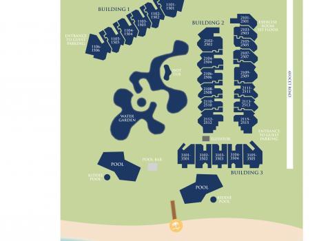 Sea Crest Complex Map