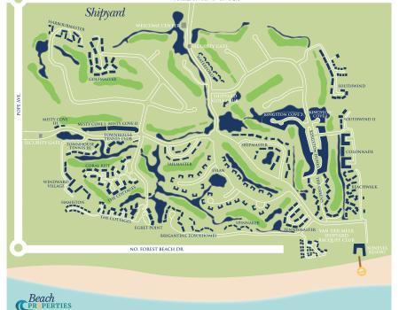 Shipyard Hilton Head Map