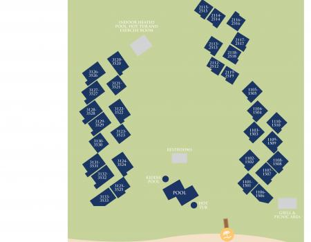Map of Villamare Palmetto Dunes