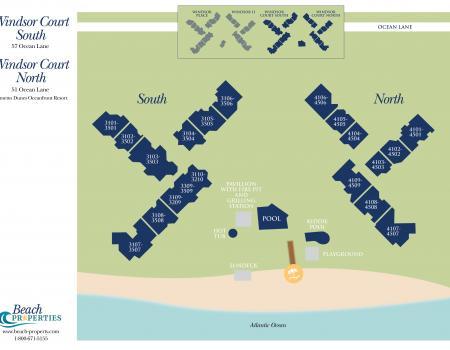 Windsor Court Complex Map Hilton Head