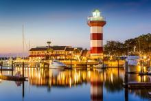 hilton head lighthouse beautiful marina views
