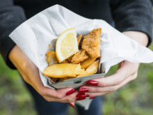 seafood festival food