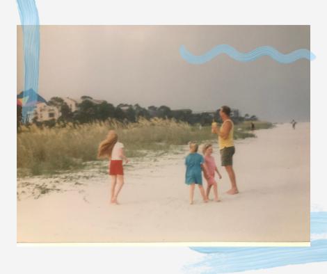 on the beach peggy schmitt memories