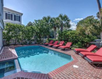 beach properties 10 knotts way pool view