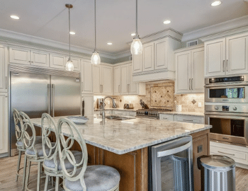 large beautiful renovated kitchen beach properties