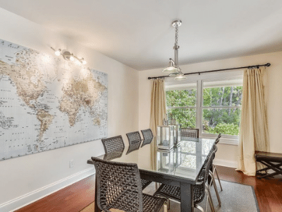 dining room beach properties feature